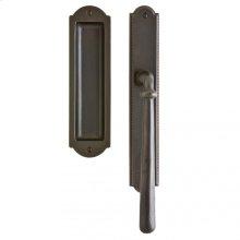 """Ellis Lift & Slide Door Set - 1 3/4"""" x 11"""" Silicon Bronze Brushed"""