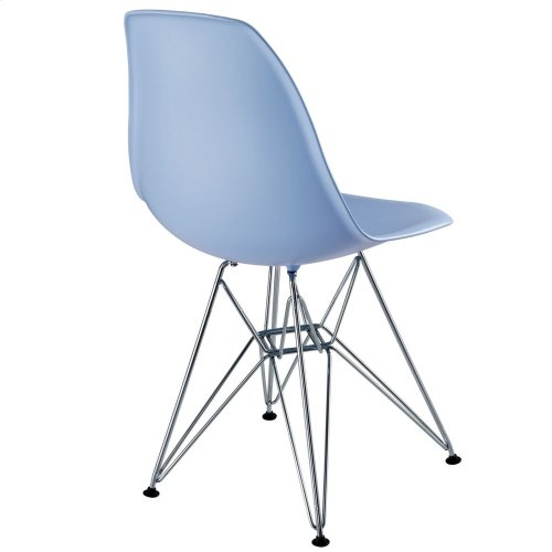 Paris Dining Side Chair in Blue