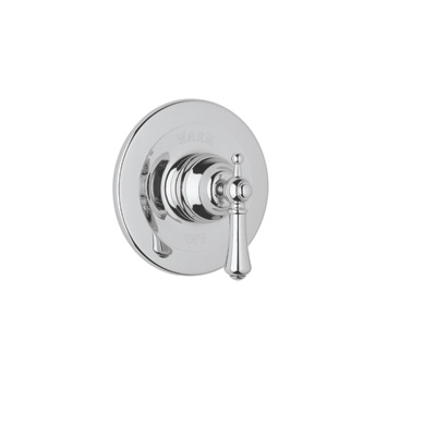 Polished Chrome Perrin & Rowe® Georgian Era Pressure Balance Trim Without Diverter with Georgian Era Style Solid Metal Lever