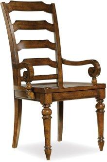 Tynecastle Ladderback Arm Chair