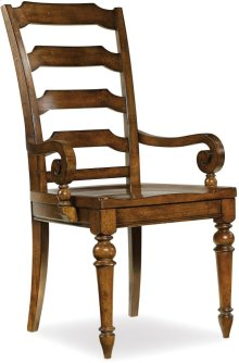 Tynecastle Ladderback Arm Chair