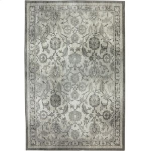 New Ross Ash Grey Rectangle 5ft 3in X 7ft 10in