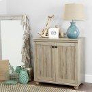 2-Door Storage Cabinet - Rustic Oak Product Image
