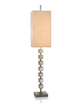 Mirrored Blocks Buffet Lamp