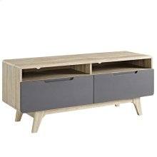 "Origin 47"" TV Stand in Natural Gray"