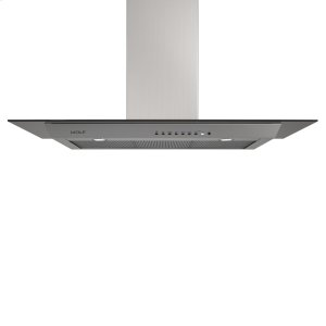 "Wolf45"" Cooktop Wall Hood - Glass"