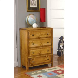 Wrangle Hill Amber Wash Four-drawer Chest