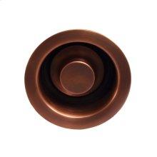 """Disposal Flange - 3-1/2"""" - Antique Copper"""