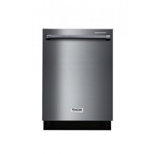 "Thor24"" Black Stainless Steel Dishwasher"