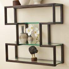 One Up Wall Shelf-Bronze