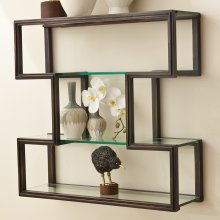 One Up Wall Shelf-Bronze Finish