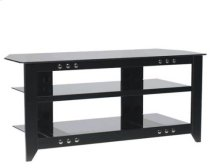 Video Stand Contemporary design and solid construction come together to create strength and beauty - Black