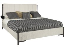 Sierra Heights King Upholstered Bed