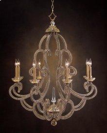 Paris Eight-Light Chandelier