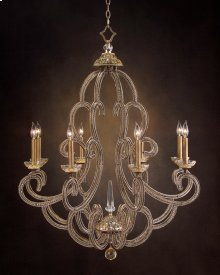 Paris Eight-Light Chandelier