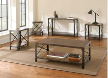 """Winston Square End Table, 24"""" x 24"""" x 24"""""""