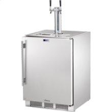 Undercounter Refrigerator Dual-tap Beverage Dispenser