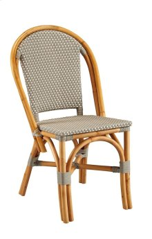 Grey Paley Bistro Side Chair