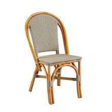 Grey Paley Bistro Side Chair