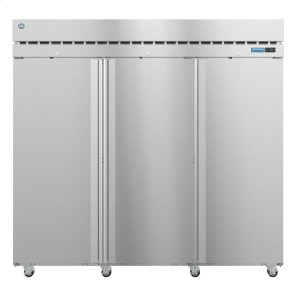 HoshizakiR3A-FS, Refrigerator, Three Section Upright, Full Stainless Doors with Lock