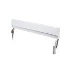 Frigidaire White Slide-In Range Adjustable Metal Backguard Product Image