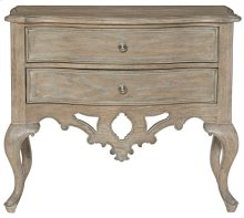 Campania Nightstand in Weathered Sand (370)
