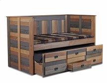 Twin Three Drawer Trundle Unit