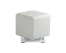 Marco Swivel Ottoman - Snow Product Image