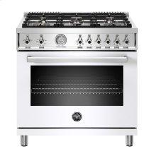 "36"" Professional Series range - Gas oven - 6 brass burners"
