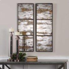 Rahila Mirrored Wall Panels, S/2
