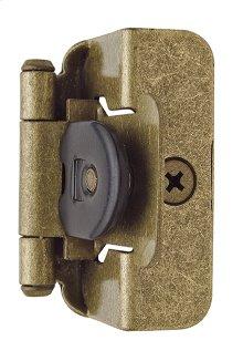 Self-closing, Double Demountable 1/2in(13mm) Overlay Hinge