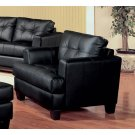Samuel Transitional Black Chair Product Image