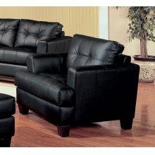 Samuel Transitional Black Chair