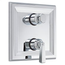 Town Square 2-Handle Thermostatic Valve Trim Kit - Polished Chrome