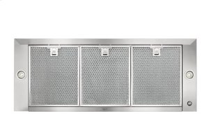 """Dovere - 35-7/16"""" Stainless Steel Chimney Range Hood for use with a choice of Exterior or In-line blowers"""