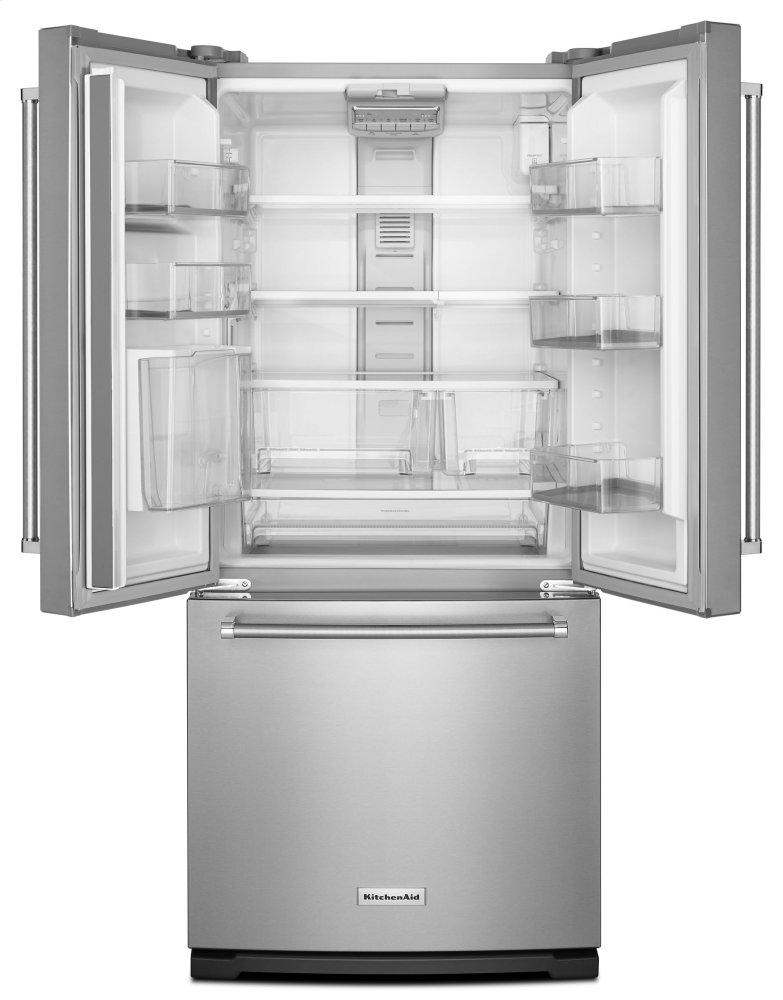 Ft. 30 Inch Width Standard Depth French Door Refrigerator With