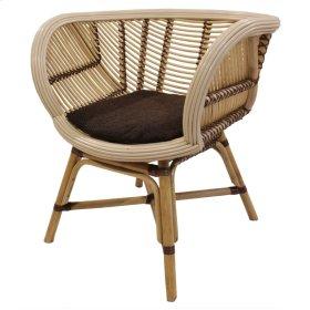 Cora Rattan Chair, Natural