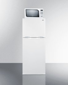 """Frost-free Refrigerator-freezer-microwave Combination Unit With 24"""" Width"""