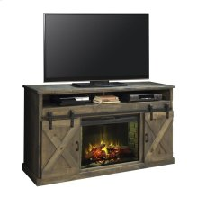 "Farmhouse 66"" Fireplace Console BNW"