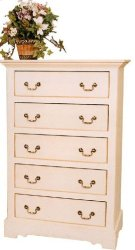 """#142 Clayton Chest of Drawers 32""""wx19""""dx50""""h Product Image"""