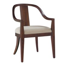 Monterey Point Curved Back Arm Chair