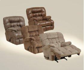 Chaise Rocker Recl w/Heat & Massage - Driftwood