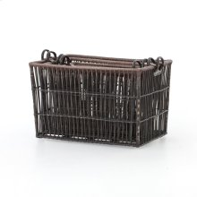 Nesting Wicker Baskets, Set of 4