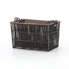 Nesting Wicker Baskets, Set of 4