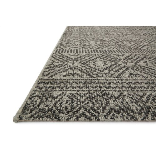 Mh Silver / Black Rug
