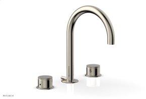 BASIC II Widespread Faucet 230-01 - Polished Nickel