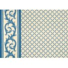 Ardmore - Dresden Blue on White 0631/0003 Product Image