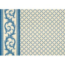 Ardmore - Dresden Blue on White 0631/0003