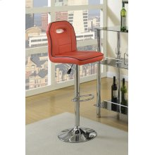 F1624 / Cat.19.p62- ADJUSTABLE BARSTOOL RED