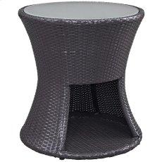 Strum Patio Outdoor Patio Side Table in Espresso Product Image